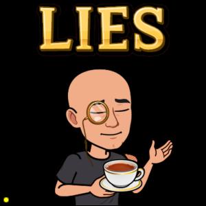 opositor mintiendo